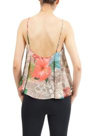 Potter's Pot Floral Tank Top - Front full body