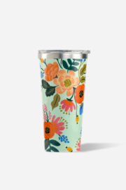 Corkcicle Rifle Paper Co Tumbler-16oz - Front full body
