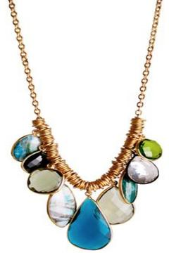 Shoptiques Product: Alize Teal Necklace