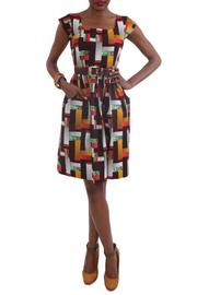 Royal Jelly Harlem Paloma Logs Dress - Product Mini Image