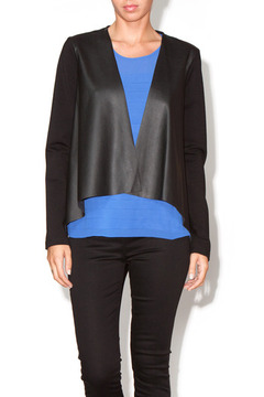 Velvet Jagged Edges Jacket - Product List Image