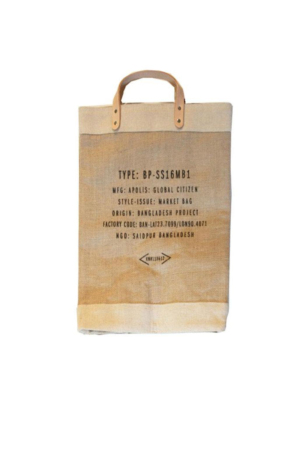 Apolis Nashville Market Bag - Back Cropped Image