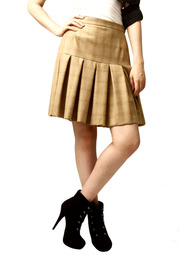 Shoptiques Product: Knee-Length Pleated Skirt
