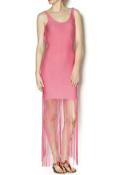 Belle Femme Fashions Fringe Bottom Maxi - Product List Image