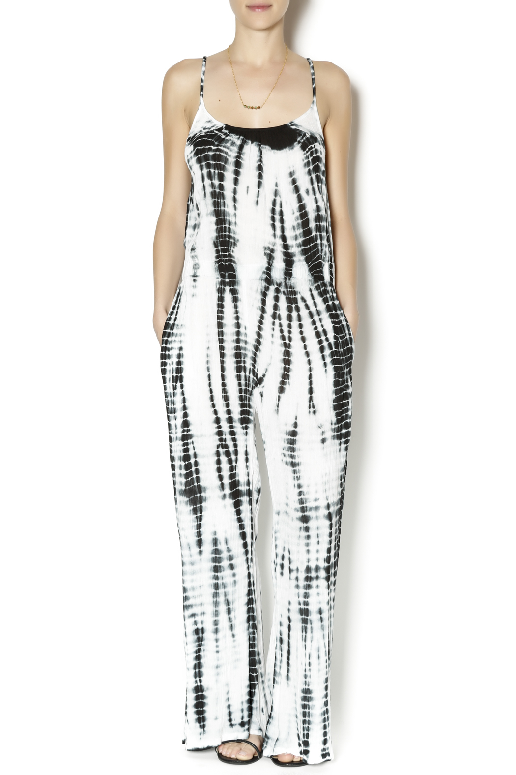 cb09238608d7 Elan Tie Dye Jumpsuit from Minnesota by The Vintage Gypsy — Shoptiques