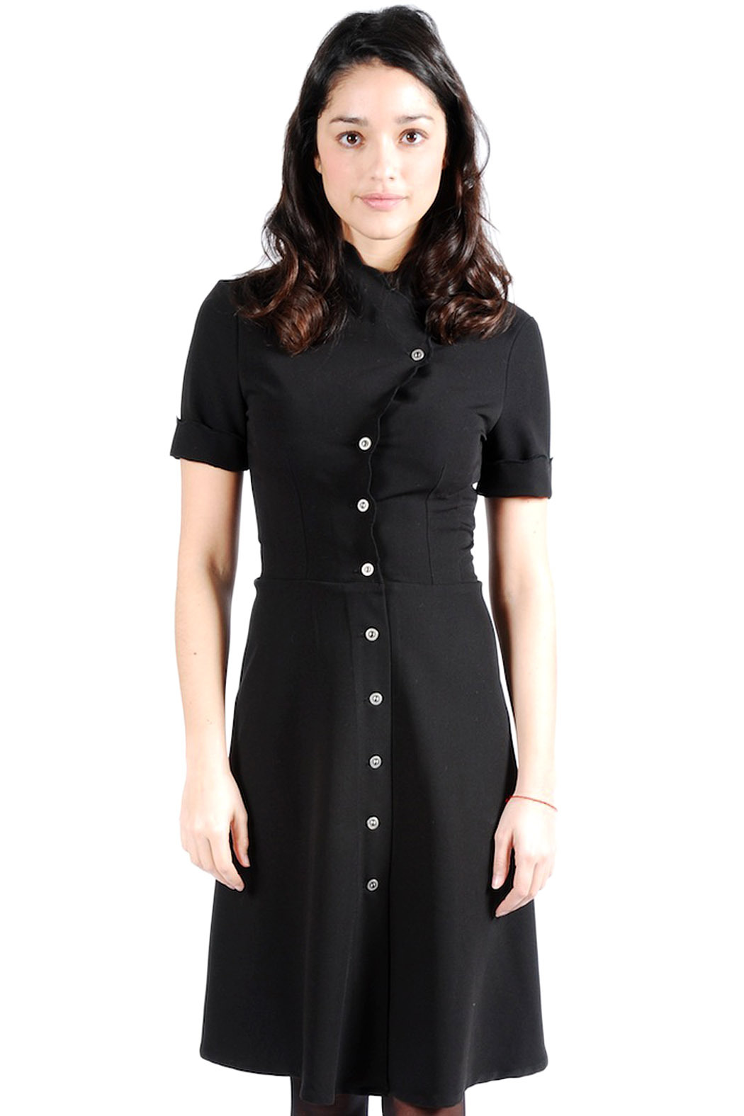 Mimi's Beer Structured Black Button Down Dress from Marais ...