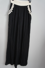 22nd Fringed-Pocket Palazzo Pants - Front cropped