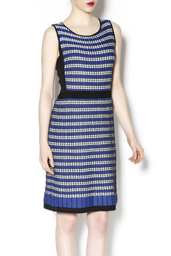Laundry Blue Knit Sleeveless Dress - Product List Image