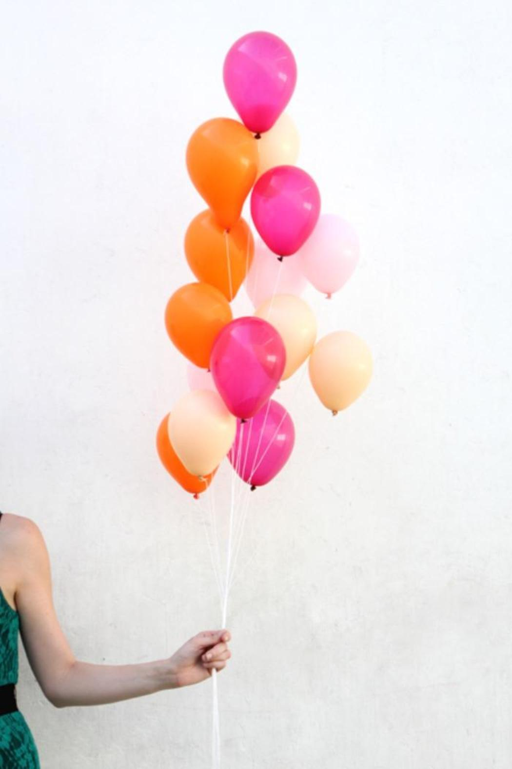 The Flair Exchange Mini Balloon Bright - Front Cropped Image