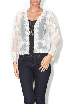 Shoptiques Product: Lace Butterfly Cardigan