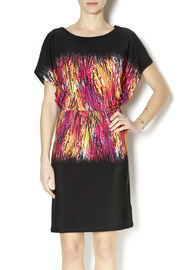 Tribal Stretch Waist Dress - Product Mini Image
