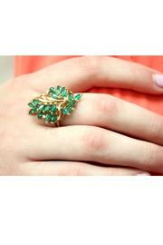 CDO` Emerald Cluster Ring - Other