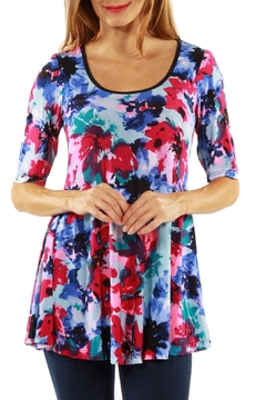 24/7 Comfort Apparel Casual Tunic Top - Product List Image