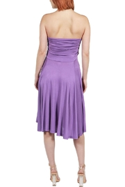 24/7 Comfort Apparel Irresistible Strapless Dress - Side cropped