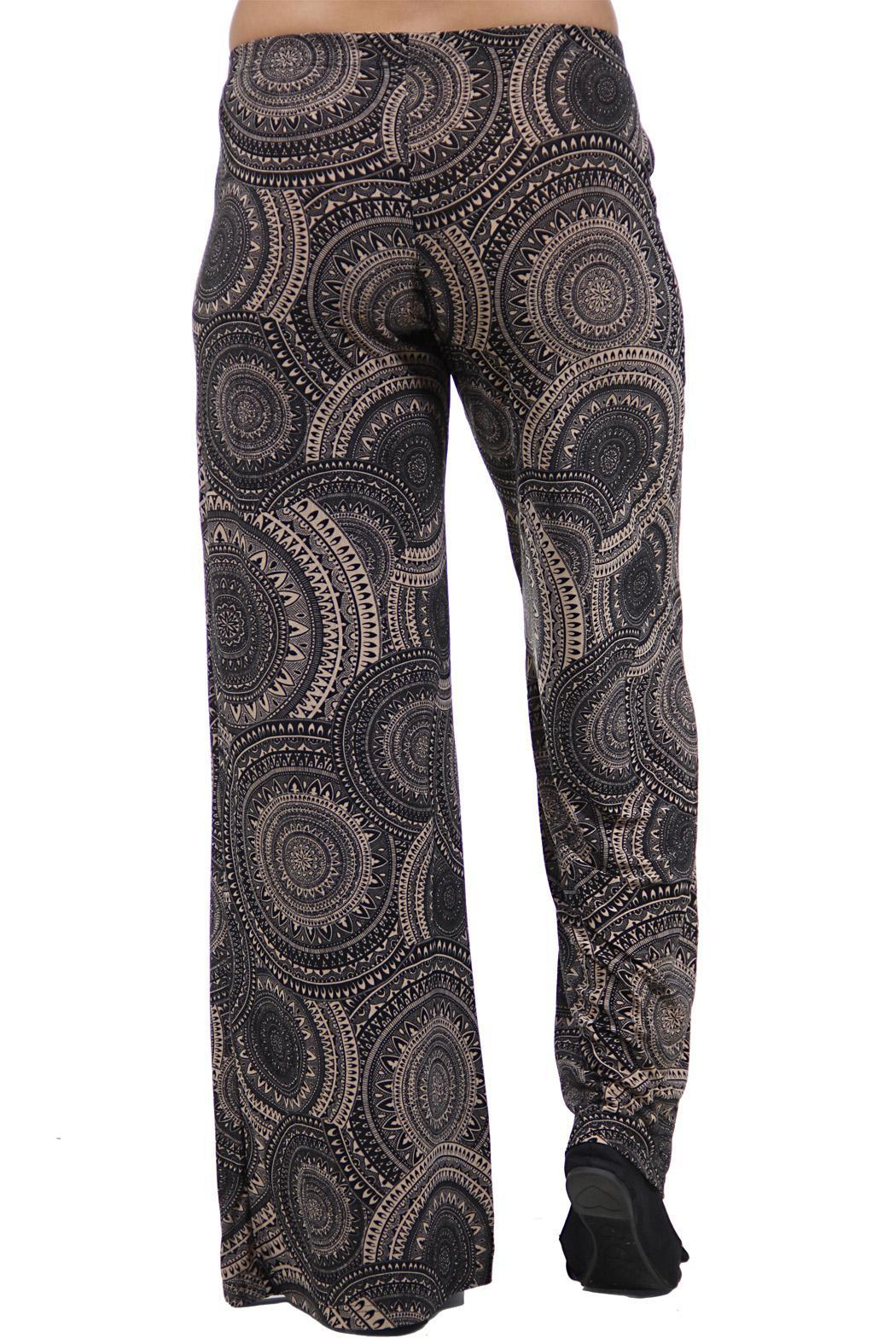 24 7 comfort apparel patterned palazzo pants from for Palazzo 24