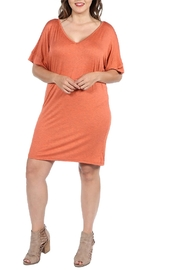 24/7 Comfort Apparel Plus Mini Dress - Product Mini Image