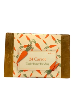 Soap and Water Newport 24 Carrot Barsoap - Alternate List Image