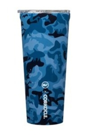 Corkcicle 24 OZ TUMBLER-BLUE CAMO - Product Mini Image
