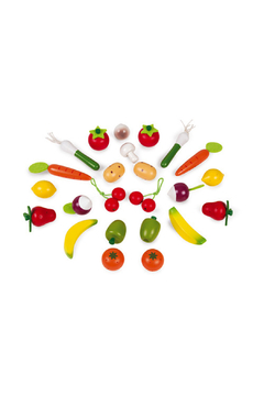 Janod 24 Piece Fruits And Vegetables - Alternate List Image