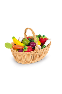 Janod 24 Piece Fruits And Vegetables - Product List Image