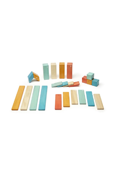 Tegu 24 Piece Magnetic Wooden Block Set - Product List Image