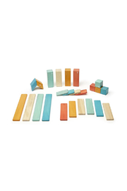 Tegu 24 Piece Magnetic Wooden Block Set - Product Mini Image