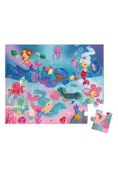 Janod 24 Piece Mermaid Hatbox Puzzle - Product List Image