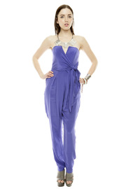 Shoptiques Product: Strapless Prism Jumpsuit