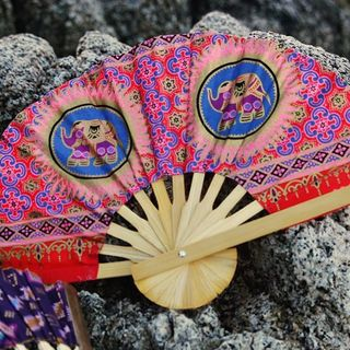 Shoptiques Printed Fan