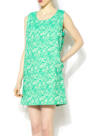See U Soon Mint Lace Shift Dress - Front cropped