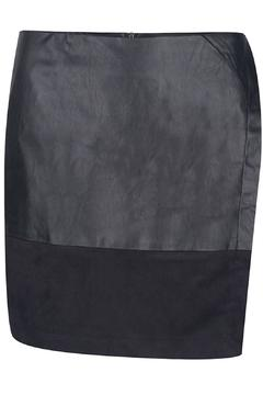 Shoptiques Product: Black Leather Skirt