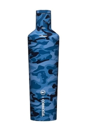 Corkcicle 25 OZ CANTEEN-BLUE CAMO - Product Mini Image