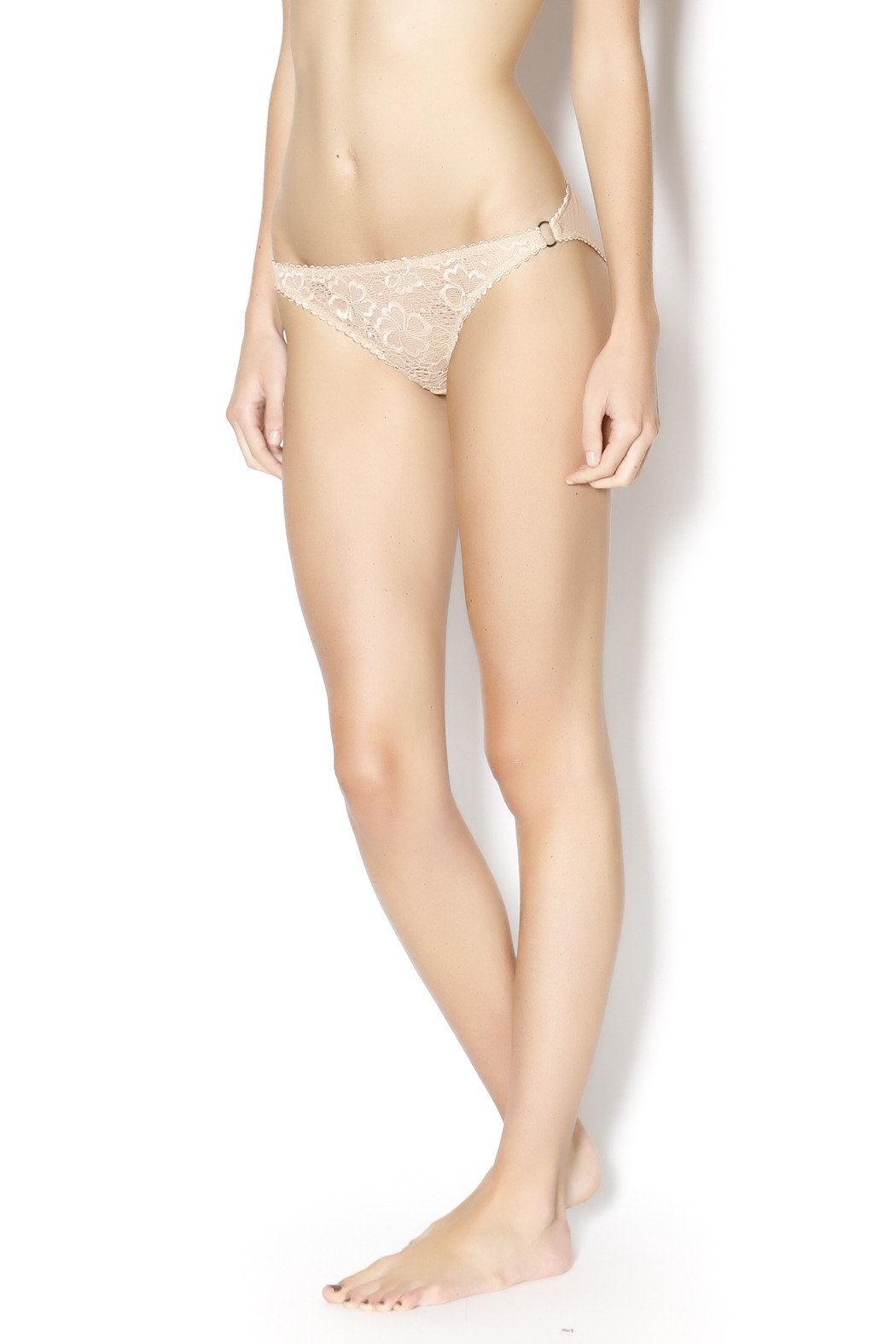 Lonely Floral Mesh Panty - Main Image