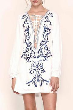 The JetSet Diaries Embroidered Dynasty Tunic - Product List Image