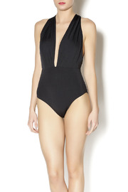 beach joy Cross Back Bathing Suit - Product Mini Image