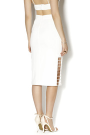 C/MEO COLLECTIVE Airplane Skirt - Back cropped