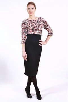 Shoptiques Product: Print Wool Dress