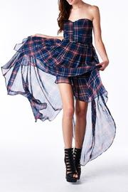 MHGS Plaid Sweetheart Dress - Product Mini Image