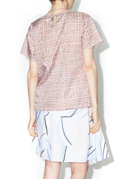 Library Taupe Parker Blouse - Alternate List Image