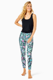"""Lilly Pulitzer  26"""" Weekender High Rise Leggings - Front cropped"""