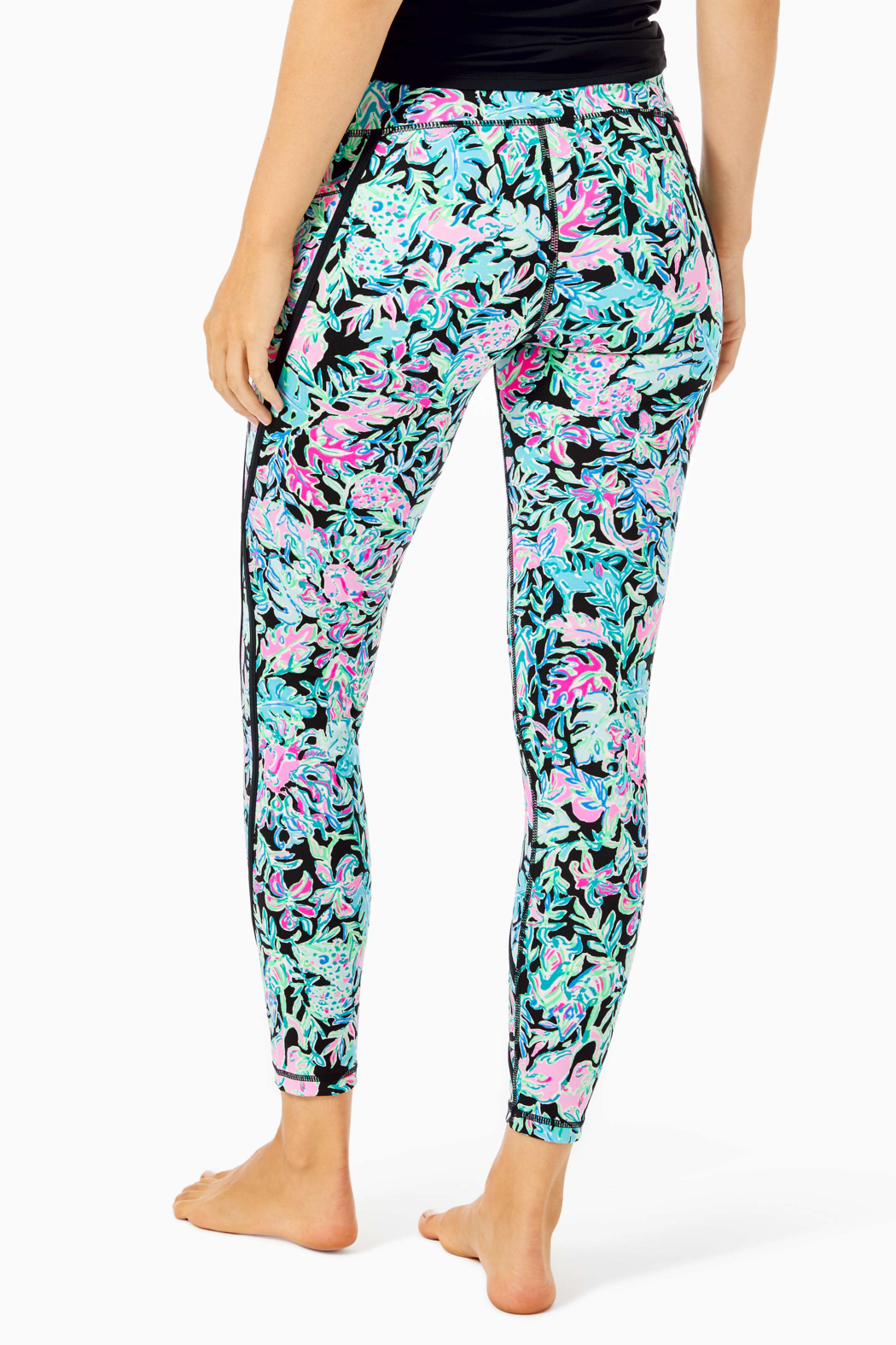 """Lilly Pulitzer  26"""" Weekender High Rise Leggings - Front Full Image"""