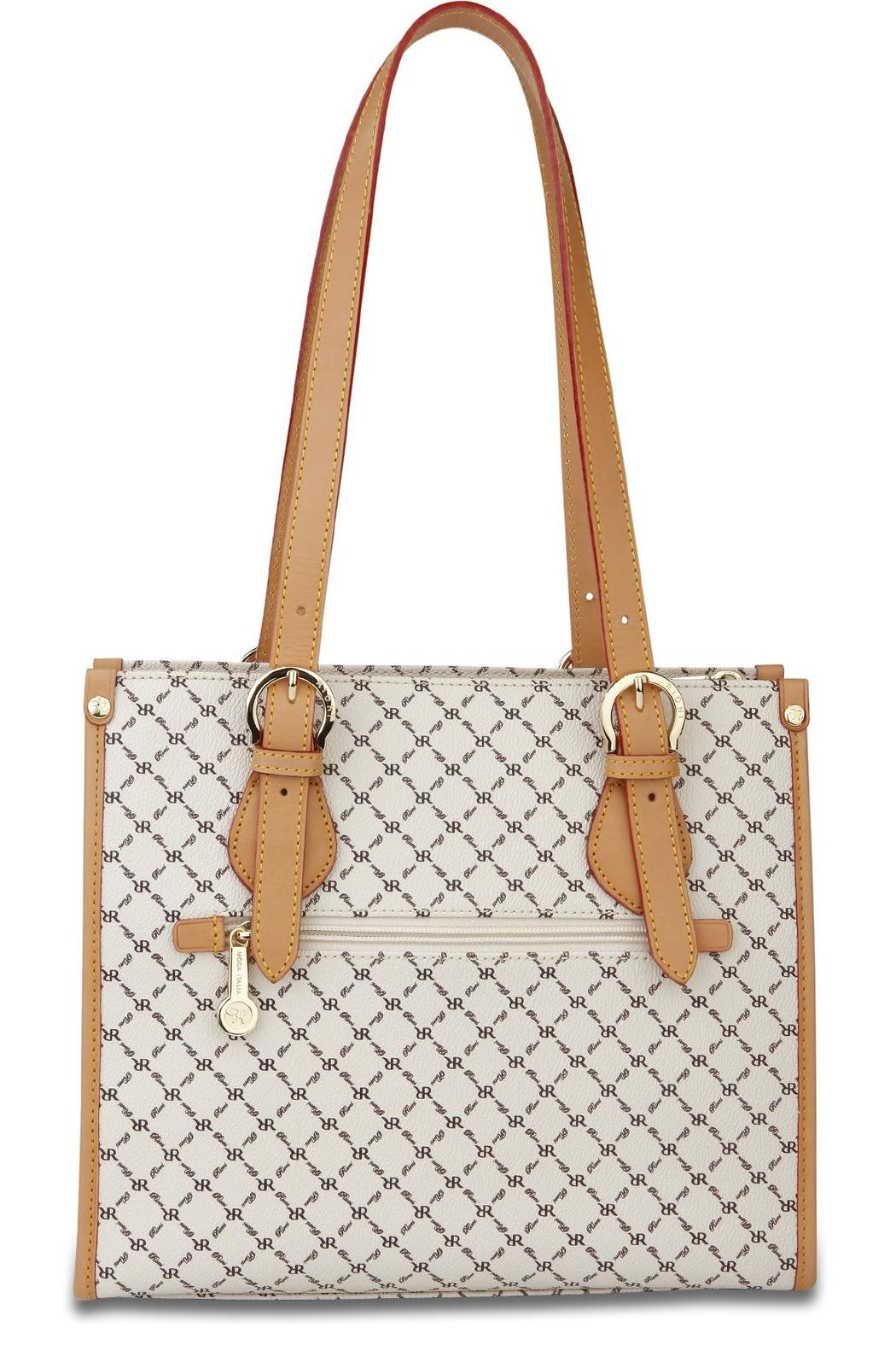 Rioni Signature Shoulder Tote - Side Cropped Image