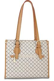 Rioni Signature Shoulder Tote - Side cropped