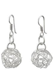 Pavel Perez Wire Ball Earrings - Product Mini Image