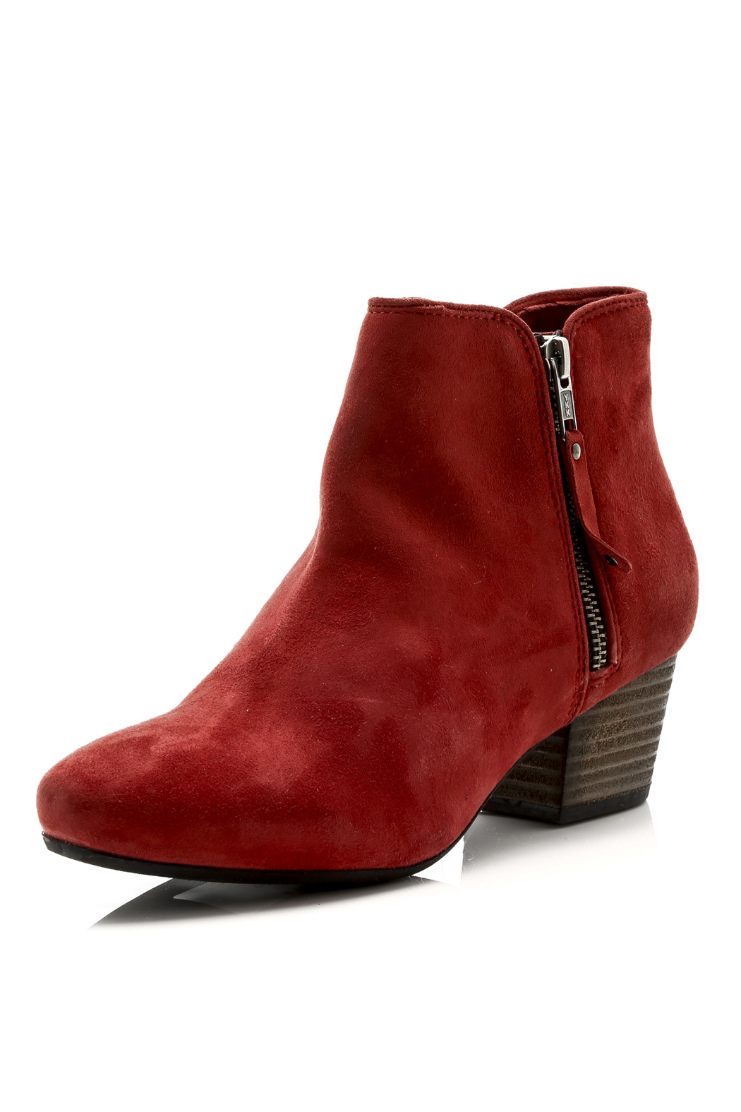 Let the Dolce Vita Chase Cinnamon Red Suede Leather Mid-Calf Booties get you excited for chilly mornings and chunky knits! Soft supple genuine suede forms a chic, mid-calf boot with a rounded-toe upper and a 6