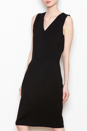 26Line by MLNK Black Sheath Dress - Front cropped