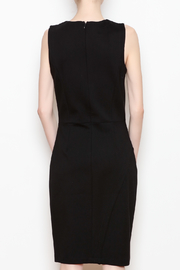 26Line by MLNK Black Sheath Dress - Back cropped