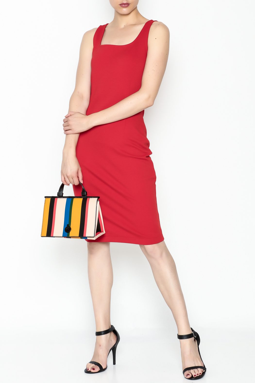 26Line by MLNK Poppy Sheath Dress - Side Cropped Image