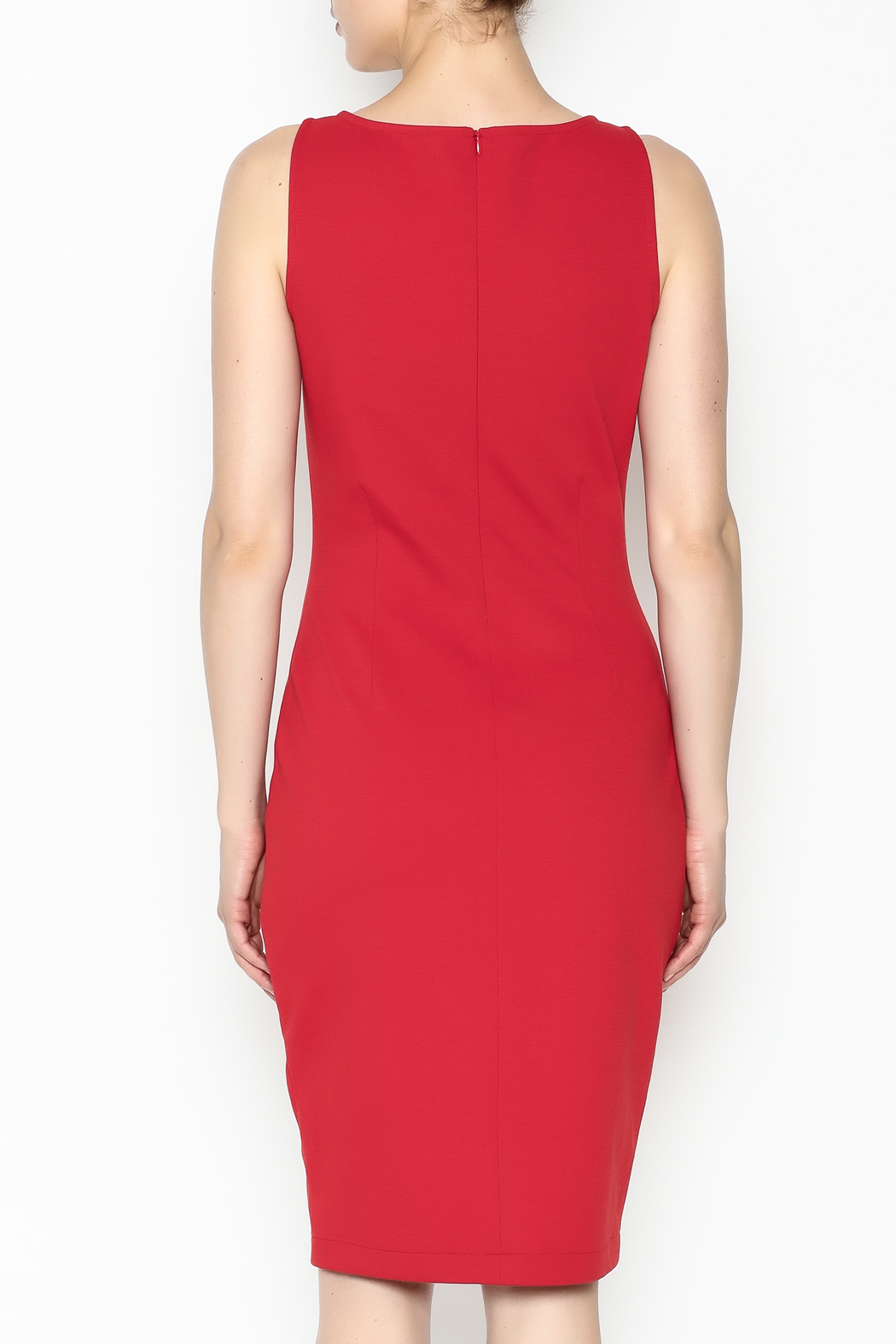26Line by MLNK Poppy Sheath Dress - Back Cropped Image