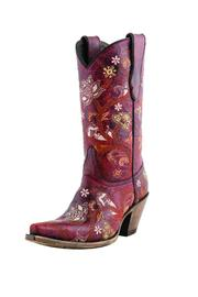 Lucchese Gardenia Floral Boot - Product Mini Image